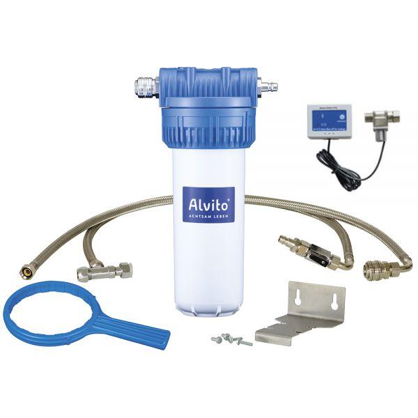 Alvito Einbau-Wasserfilter 2.1 inkl. Wasserstop im Wasserfilter-Handel